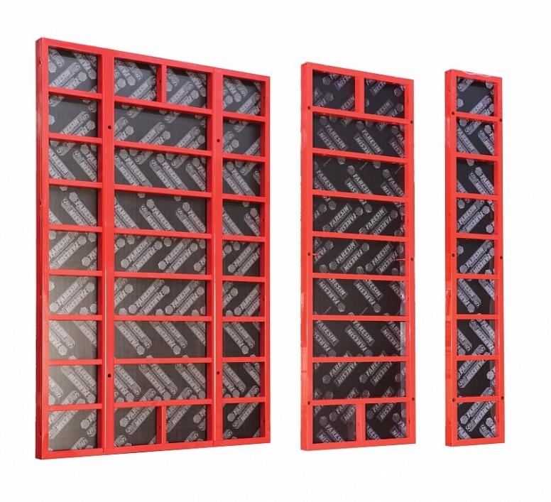 Универсальная модульная опалубка стен MODULE 3000/S100 — Аренда опалубки  Faresin в Беларуси Минске