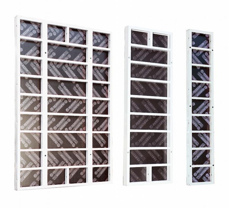 Алюминиевая модульная опалубка стен MODULE 3000 AL/S100